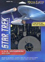 Fascinations Metal Earth Star Trek USS Enterprise NCC-1701 3D Steel Model Kit