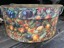 Large Round Decorative Hat/ Storage Box