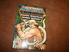 LADYBIRD  BOOK MASTERS OF THE UNIVERSE (CASTLE GRAYSKULL UNDER ATTACK