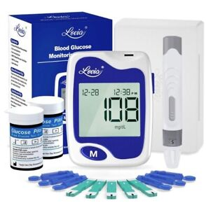 Blood Glucose Monitor Kit - Lovia Diabetes Testing Kit with Blood Sugar Monitor,