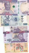 AFRICA LOT OF 5 DIFFERENT BANKNOTES UNC,(S)