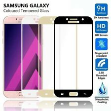 3D FULL COVER Tempered Glass Screen Protector for Samsung Galaxy A3/A5/A7 2017