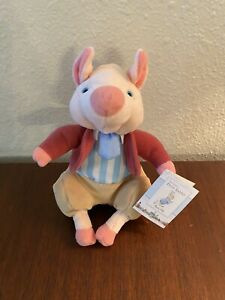 Classic Peter Rabbit Beatrix Potter Plush Pingling Pig