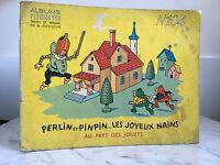 Álbum Florecilla N º 104 Granos Y Pinpin Las Feliz Enanos A País Juguete 1954