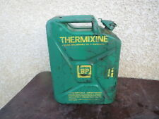 Ancien Jerrican Bidon BP Thermixine - 20L Déco Loft Atelier Garage auto ancienne