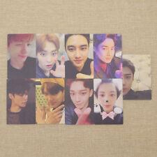 1 Set Korean Star EXO 5th Anniversary Signature Lemo Card Photocards Fanmade