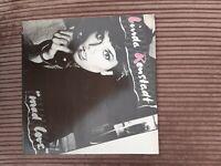 """LINDA RONSTADT """"Mad Love"""" Vinyl LP K 52210 Excellent Vinyl UK"""
