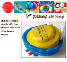 """5 """"AIR POMPA gonf. per il Nuoto Anello BALLOON & Yoga a Sfera in plastica gonfiabile"""