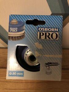 Osborn Twist Wire Cup Brush 80mm M14 BNIB