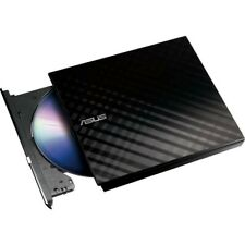 Asus SDRW-08D2S-U LITE 8x Slim Portable USB External CD DVD RW Burner Writer