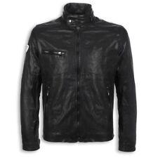 DUCATI Metropolitan LederJacke Leather Jacket schwarz NEU !! %% REDUZIERT %%