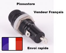 Support Porte-fusible 6x30mm AC 125V 250V 15A pour Chassis Panneau Voiture. Neuf