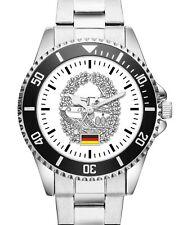 Soldat Geschenk Bundeswehr Zubehör Panzertruppe Uhr 1148