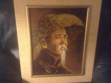 Tom Wong Korean Man Oil Painting