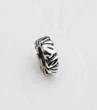 Genuine Pandora Silver Spacer - Leaves - 790206 - retired