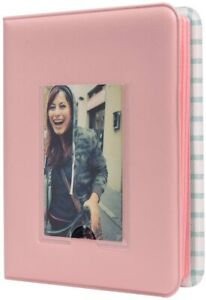 Polaroid Pocket Photo Album with Window Cover for 2 x 3 Photo Paper (Snap, Zip)
