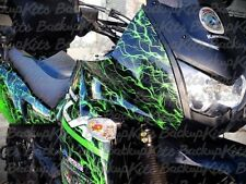 KAWASAKI KLR 650 GRAPHICS DECALS STICKERS LIGHTING GREEN  (2008 - 2018)