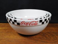 Coca Cola Nesting Mixing Bowls By Gibson Set Of 3