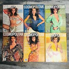 (6) 1984 Vintage Cosmopolitan Magazine Lot March April May July August September