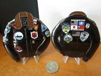 Large USN Top Gun Maverick's G-1 Fighter Pilot Flight Jacket CPO Challenge Coin