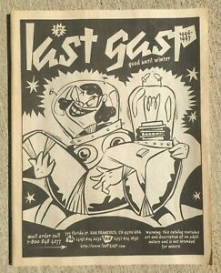 LAST GASP Catalog good until winter 1996 Underground Comix Comic Books