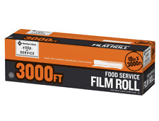 Member's Mark Food Service Plastic Saran Storage Film Wrap - 18 X 3000 feet