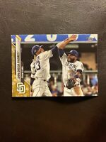 2020 Topps Series 2 Gold Star Parallel San Diego Padres Team Card #634