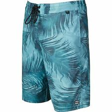 2016 NWT MENS BILLABONG ALL DAY POOLSIDE LO TIDES BOARDSHORTS $55 32 overcast