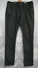 Ladies  Black Shiny  Jack Willis Jeans  W29 L32