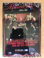 Miami Ink - Series 4 - Complete ~ Season Tattoo Tattooist TV Show | UK DVD