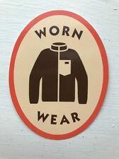 Patagonia Worn Wear Sticker/Decal, Retro X Logo, Outdoors, 3 Inch