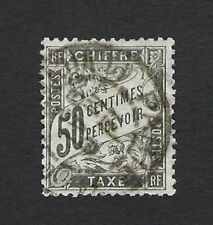 FRANCE 1881 TAXE TYPE DUVAL 50c Nº 20 USED