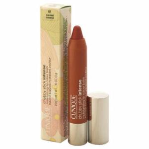 Clinique Chubby Stick Intense moisturizing lip color in 01 Curviest Caramel NIB