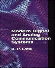 Modern Digital and Analog Communication Systems (The Oxford Series in Electrical