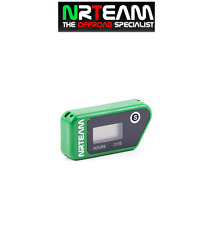 NRTEAM CONTAORE WIRELESS CROSS ENDURO VIBRAZIONE VIBRATION HOUR MOTO VERDE