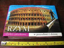 RZYM  JAKI BYL I JAKI  JEST  PRZEWODNIK  VISION PUBLISH 2000  ROMA POLSKIE
