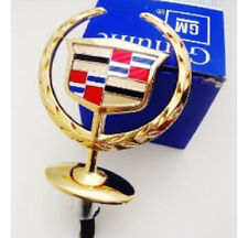 CADILLAC HOOD ORNAMENT! 2000 2001 2002 2003 2004 2005 DEVILLE! DTS! GOLD PLATED!
