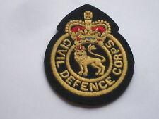 Civil Defence Corps, englisches Abzeichen Zivile Verteidigung
