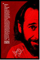 GEORGE CARLIN ART PHOTO PRINT 3 POSTER GIFT