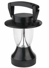 """Solar Camping LED Lantern with Cranking Power Option 8.5"""" Tall"""