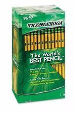 96 Dixon Ticonderoga, Woodcase Pencil, HB #2, Yellow Barrel 8 Doz| NO SALES TAX