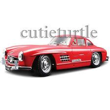 Bburago 1954 Mercedes Benz 300 SL Gullwing 1:24 Diecast Model Car 24023 Red