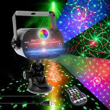 More details for 240 patterns laser projector stage light led rgb home party ktv club dj disco uk