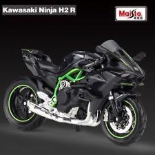 New 1:18 Scale Maisto Kawasaki Ninja H2R H2 diecast motorcycle model toys Gifts