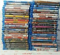 50 Blu Ray Lot Sci Fi, Action, Comedy, Kids, Drama, Movie Lot/Bundle -  Q5
