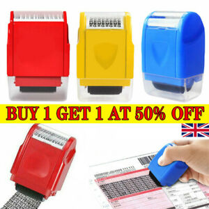 Identity Theft Protection Roller Stamp Privacy Confidential Guard Your ID Data