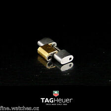 Genuine 18mm Swiss Men's TAG HEUER 2000 CLASSIC Gold/Steel Bracelet Link + Pin