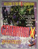 """GENERATION X Promo poster, 17"""" x 22"""",  Unused, more Marvel in our store"""