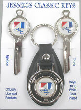 AMC White American Motors Corp. Deluxe Classic Key Set 1968 1969 Keys