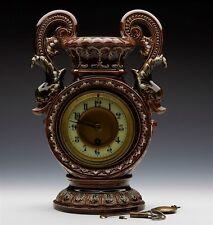 Wilhelm Schiller majolique Horloge